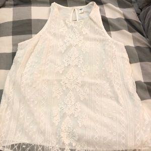 Lace old navy tank
